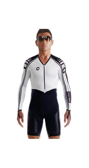 assos cS.uno Miehet lyhyet pyöräilyhousut , valkoinen/musta